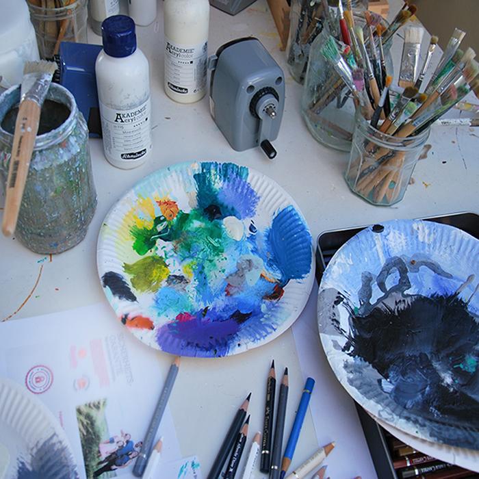 Anke-Sowada-Atelier-Material